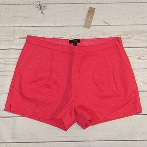 NWT J. Crew pleated short in cotton pique 2